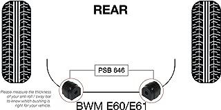 2 x BMW E60 5-Series Front M-Sport Anti Roll Bar 25.5mm Poly PSB Bush Kits 03-10