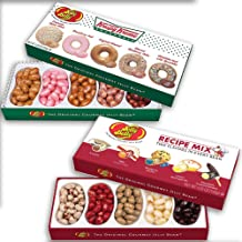 (Set) Jelly Belly Krispy Kreme Gift Box And Recipe Mix - 4 Boxes Candy Beans