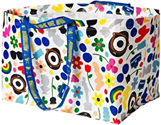 FÖRNYAD Shopping Bag, Large Multicolor Reusable: Limited Edition: GR8 4 Groceries, Laundry Etc