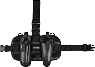 Booms Fishing LH1 Adjustable Drop Leg Holster, with 2 Fishing Pliers Sheathes