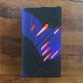 ModShield for SMOK T-PRIV 220W TC Silicone Case ByJojo T PRIV 220 W Skin Cover Sleeve Shield Wrap (Purple/Black)