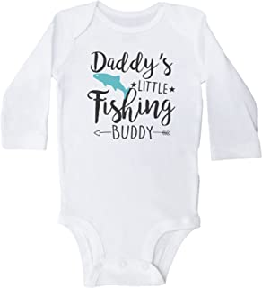 Daddy's Little Fishing Buddy/Funny Fish Onesies / 3 Colors Available