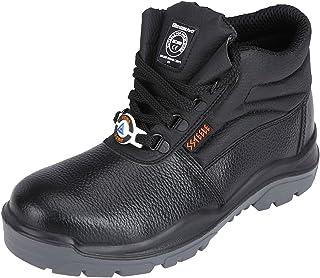 ACME Boxylic Leather Safety Shoes Black (Size - ACME003_45)