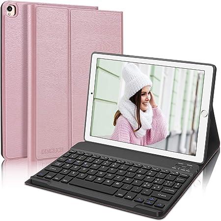 """D DINGRICH Custodia con Tastiera per iPad 8 Generazione 10.2"""" 2020, Cover con Tastiera Italiana Wireless Staccabile Magnetica per iPad 7 Generazione 2019/iPad Pro 10.5/iPad Air 3 10.5, Oro Rosa"""