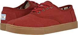 Brick Red Heritage Canvas Cupsole