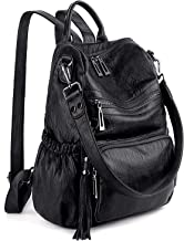 Best backpack purse black Reviews