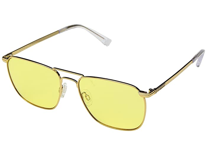 VonZipper League (Gold Gloss/Sunburst) Sport Sunglasses