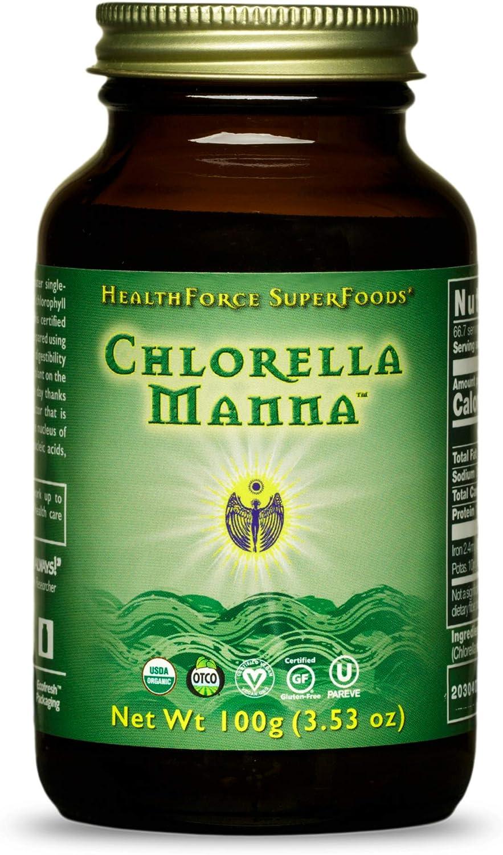 HealthForce SuperFoods Chlorella Manna Powder Fres - Spring new work Max 88% OFF Grams 100