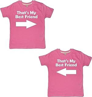 Edward Sinclair That My Best Friend Girls - Juego de camiseta para niñas (texto en la sección de mensajes de regalo)