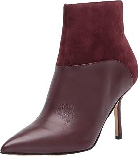 Nine West Women's wnEddie Fashion Boot, Red, 8