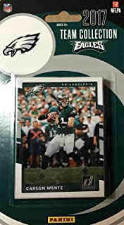 Philadelphia Eagles 2017 Donruss Factory Sealed Team Set with Carson Wentz, Reggie White, Rookie Cards of Sidney Jones and Derek Barnett plus