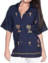 women's rayon hawaiian shirts