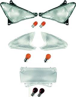AMAS The Best Kit Gemme - Lentes transparentes homologadas T-MAX 500 de 2001 a 2007
