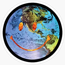 BeliNZStore Travis Scott Astroworld Globe Smiley Stickers (3 Pcs/Pack)