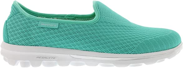 Skechers Go Walk Blend Womens Slip On Sneakers