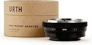 Urth Lens Mount Adapter: Compatible with Canon FD Lens to Sony E Camera Body