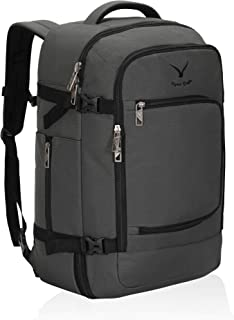 Hynes Eagle Travel Backpack 40L Flight Approved Carry on Backpack, Grey 2018