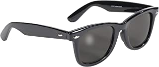 Pacific Coast Blues Brothers Glasses (Black Frame/Smoke Lens)