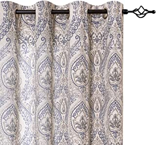 Best damask teal curtains Reviews