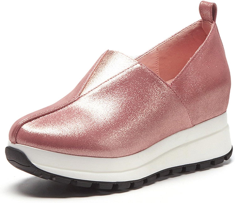 New Sheepskin Flat Platform shoes Women Fashion Spring Comfort Casual Woman shoes