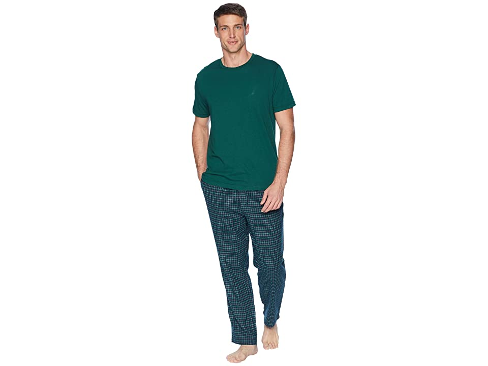 Nautica Woven PJ Set (Tidal Green) Men