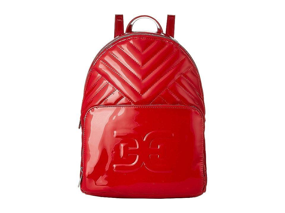 Sam Edelman Taja Backpack (Red Patent) Backpack Bags