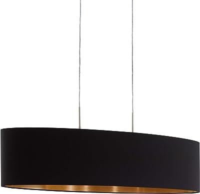 SMD LED 25 Watt Pendelleuchte Länge 100 cm ALU Hängelampe dimmbar Wohnzimmer
