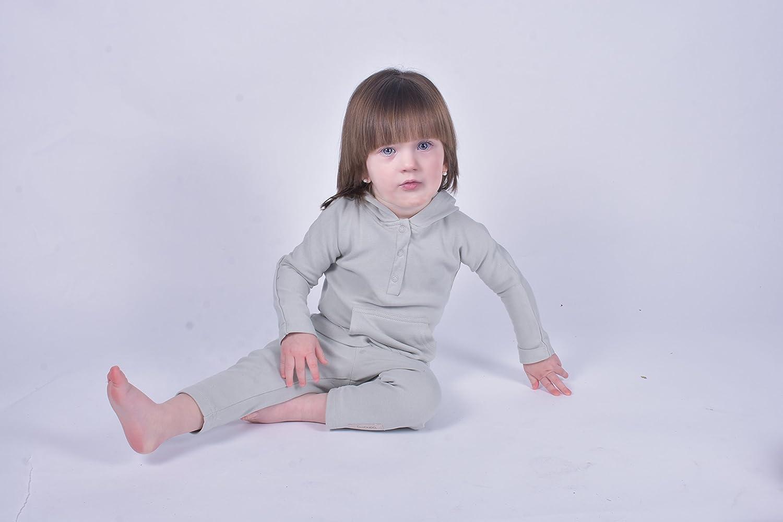 bonamy Baby Organic Cotton Hoodie Sweater-Hooded Sweatshirt for Toddler Boys and Girls