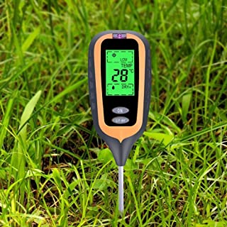 4 in 1 Plant Soil Ph Moisture Tester with Blacklight Survey Instrument KC300