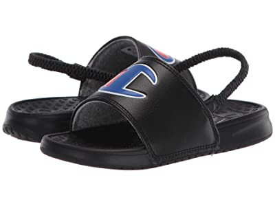 Champion Kids Super Slide (Toddler) (Black) Kids Shoes