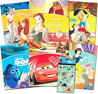 Disney Bedtime Stories for Toddlers Kids -- Bundle Includes 5 Disney Storybooks Featuring Disney Toy Story, Beauty and the...