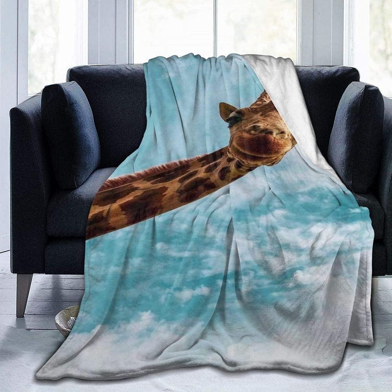 Max 84% OFF Fleece Blanket Throw Max 68% OFF and Throws Soft Giraffe Super Lightweight