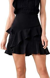 Sugar Lips Women's Skyla Layered Ruffle Mini Skirt