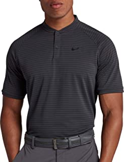 Nike Men's Tiger Woods Thin Stripe Zonal Cooling Golf Polo