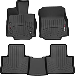 WeatherTech Custom Fit FloorLiner for Toyota Rav4-1st & 2nd Row (Black)