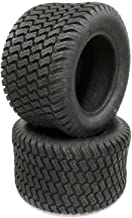 (2) Walker Mower 18x10.50-10 Turf Tires Low Profile Replaces 8075-1 18x10.5-10