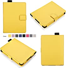 Bear Motion for Kindle 8th Generation Case - Premium Folio Case for All-New Kindle (8th Generation, 2016) - Yellow