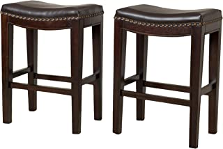Best carolina brown backless counter stool set of 2 Reviews
