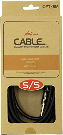 Amazon _ AriaProII HI-PERFORMER Cable ASG-10HP 3m S_S ギターケーブル _ 楽器・音響機器ケーブル _ 楽器・音響機器