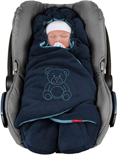 ByBoom Baby Couverture Enveloppante Hiver Universelle Multi-Usages, pour Coques Bébé, Sièges Auto (p.ex. Maxi-Cosi, R...