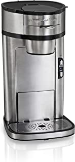 hamilton beach (49981a) single serve coffee maker stainless steel