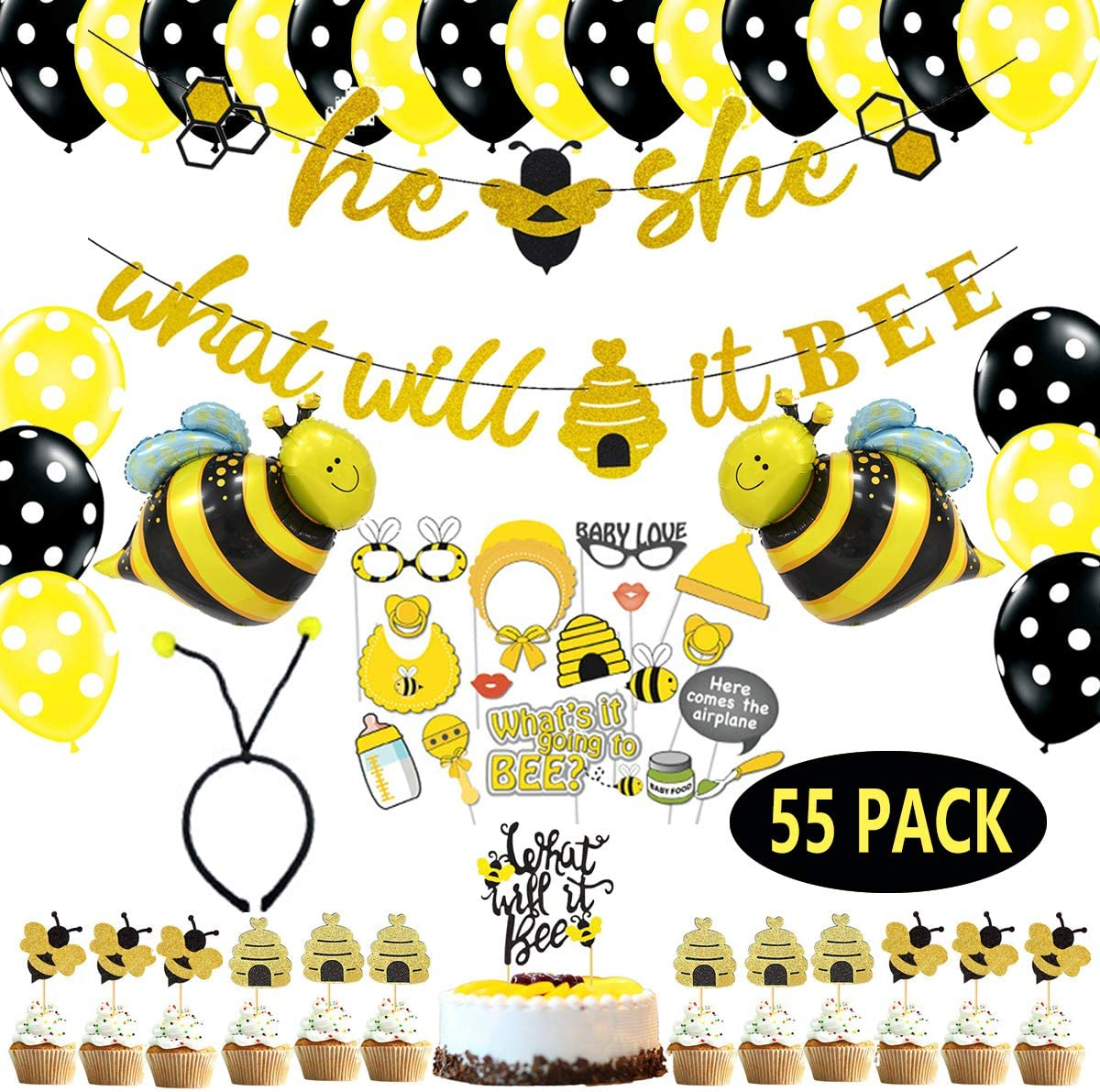 What Will It Bee Gender Party it C Banner Directly managed store Reveal Free shipping on posting reviews