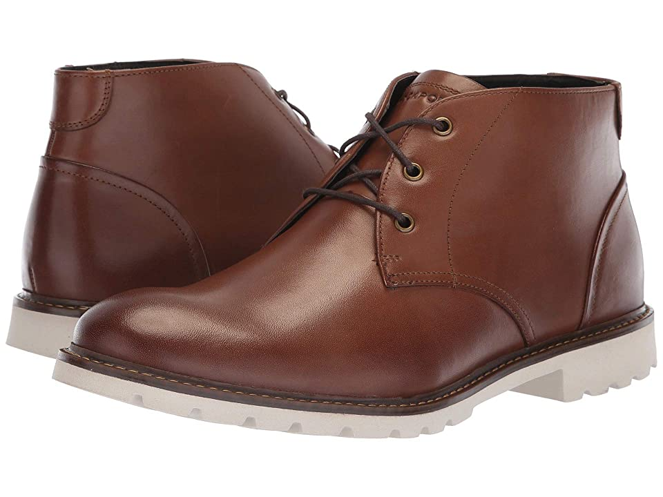 Rockport Sharp and Ready Chukka (Brown Leather) Men