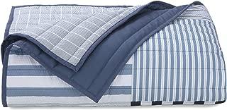 IZOD 100% Polyester Evan Comforter Set, King, White