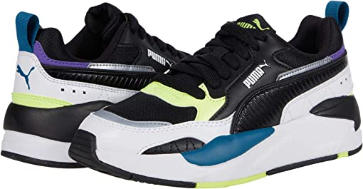 Puma Black/Puma Black/Puma White/Fizzy Yellow/Digi Blue