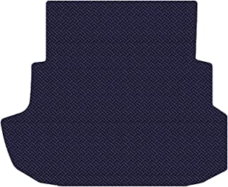 Brightt (MAT-RJO-872) Standard Trunk Cargo Floor Mat - Blue All-Weather Rubber Weave Pattern - compatible for 2007-2007 Ford Mustang Shelby GT 500 Coupe|With Shaker 1000 (2007 | 07)