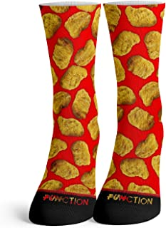 Function - Funny Food Socks Novelty Colorful Weird Cute Cool Fashion