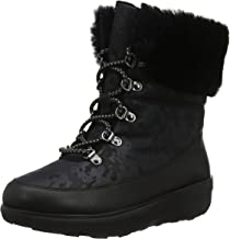 FitFlop Women's Boot, Holly Shearling 7 M US