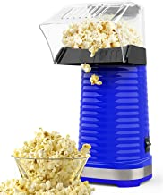Fast Hot Air Popcorn Popper With Top Cover,Electric Popcorn Maker Machine,Healthy & Delicious Snack For Family Gathering,E...