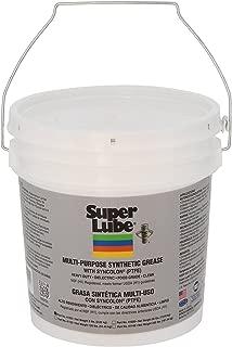 Super Lube 41050 Synthetic Grease (NLGI 2), 5 lb Pail, Translucent White